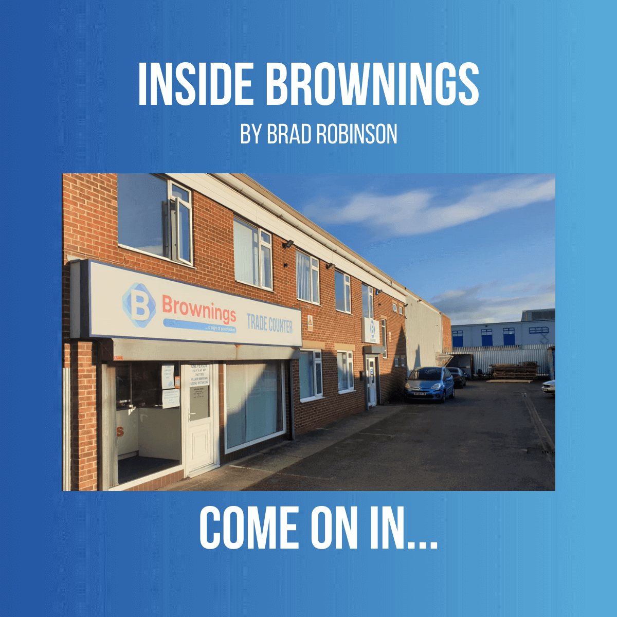 Brownings from within!